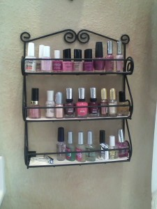 Nail polish shelf-2