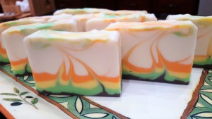 Handmade Luxurious Soap made with warm milk.